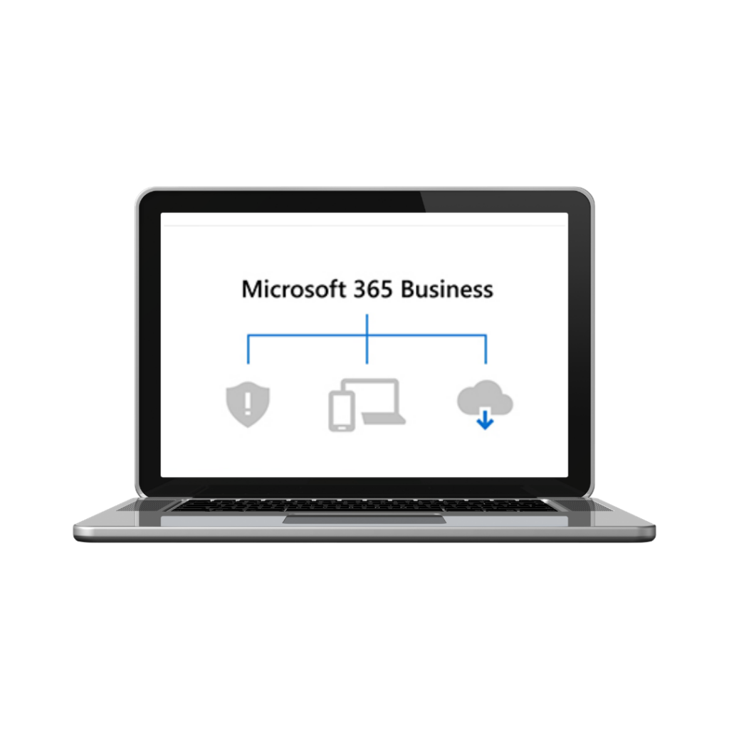 microsoft 365 business on computer